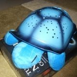 Ночник звездная Черепаха с 5 мелодиями отключаются