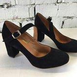 Туфли лодочки натуральная кожа/лак/замша размер 36-41