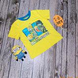 Красивая футболка Primark для мальчика 7-8 лет. 122-128 см