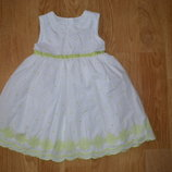 Платье на 1.5-2 года Marks&Spencer