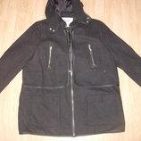 Женская осенняя куртка-пальто 54-56 разм