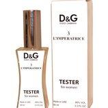 Тестер женский Dolce & Gabbana 3 L Imperatrice