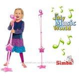 Музыкальный инструмент Микрофон со штативом Simba 6830691