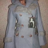 Очень стильное ,Брендовое Пальто из плотного кашемира