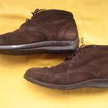 Замшевые стильные ботинки Geox,р.41,Марокко