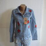 Новинка Модный пиджак женский джинсовый новый в наличии m l