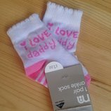 Носочки для новорожденных Mothercare new baby