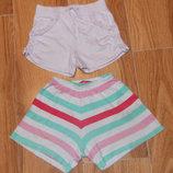Фирменные шорты для девочки 3-4 года, 98-104 см