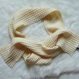 Нежный кремовый шарф. Livia. Состояние новой вещи