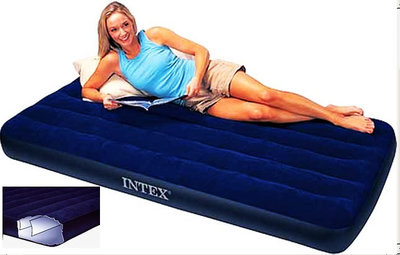 Матрас надувной одноместный 99х191х25 . Intex 64757