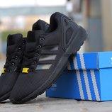 Кроссовки мужские Adidas Flux black
