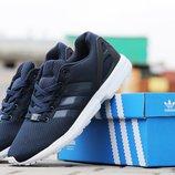 Кроссовки мужские Adidas Flux dark blue