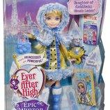 Ever After High Epic Winter Blondie Lockes Doll Кукла Блонди Локс серия Эпическая зима