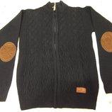 Кофта модная с латкой - одеваем после курточки