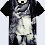 Мужская футболка 3D Монашка Огромный выбор