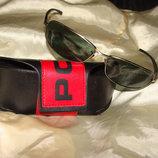 мужские поляризационные очки POLICE оригинал Италия винтаж Ray-Ban Louis Vuitton Burberry