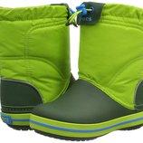 Зимние сапожки Crocs Kids. Куплены в Сша. 100 оригинал.