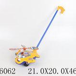 Каталочка Вертолет на палочке в пакете 21,0 20,0 46,5см