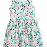 Летнее платье на девочку 2 3 4 5 6 7 8 9 10 лет от H&M Размер от 98 до 140