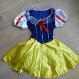 плаье девочке рр М детское женское карнавальное Белоснежка Disney Дисней