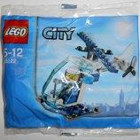 Лего Lego City Полицейский вертолет