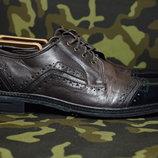 Passo Per Passo туфли, оксфорды, броги. Hand Made. Италия. Оригинал. 44 р.