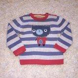 Хлопковый свитерок Marks&Spencer на 18-24 мес. рост 92 см.