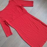 платье красное рр S модное фирменное OSMAN
