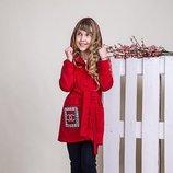 Стильный детский кардиган на девочку Размеры 134- 152