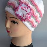 шапка ажурная р48-54