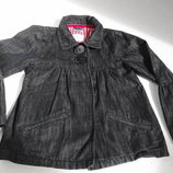 Name it. Джинсовая курточка 116 размер на 5-6 лет.
