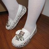 Мокасины туфли балетки 27-32 р. в Школу на каждый день
