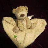 Комфортер.мишка.ведмедик.медведь.мягкая игрушка.мягка іграшка.мягкие игрушки.Mamas&Papas