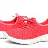 Яркие , легкие,летние кроссовки для девочки