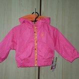 Ветровка, бренд - Pink Platinum, привезена из Сша, розовая, бирюзовая, синяя