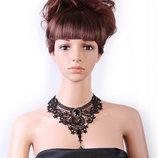 Кружевное ожерелье колье чокер