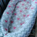 позиционер кокон люлька гнездышко для новорожденного, для совместного сна