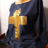 Стильная туника-платье с-м