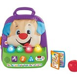 Fisher-Price смейся и учись Умный рюкзачок щенок Laugh & Learn Smart Stages Teaching Tote