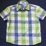 Рубашка с коротким рукавом Next на рост 110-116