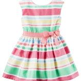Нарядные платья бренда Carters, 3-8 лет.