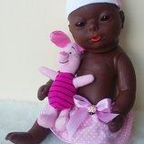 Кукла пупсик анатомический этнический негрик из Германии