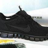 Кроссовки мужские Nike Free Run 3.0 black
