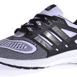 Кроссовки мужские Adidas Energy Boost 2 Black White текстильные