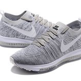 Мужские кроссовки Nike Zoom All Out Flynit - светло-серые