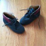Деми ботиночки полностью кожа Pedy 25 р-р