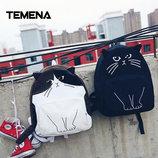 Эксклюзив, Молодежный рюкзак с уникальным принтом кота В Наличии