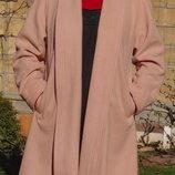 Marks & Spencer. Шерстяное пальто кардиган из Англии.