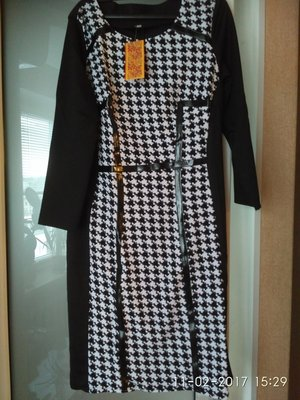 Шикарное брендовое новое платье 44-46р