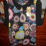 Изумительная брендовая шифоновая блуза Размер - XL
